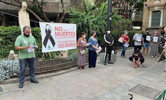 Almería llora la muerte de nueve migrantes