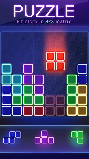 Glow Block Puzzle 1.8.6 screenshots 1