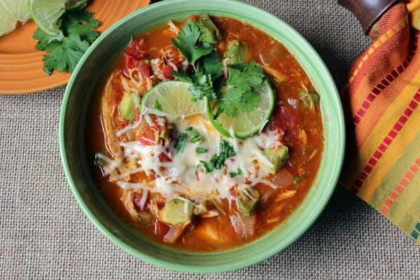 Southwestern Turkey Soup Recipe