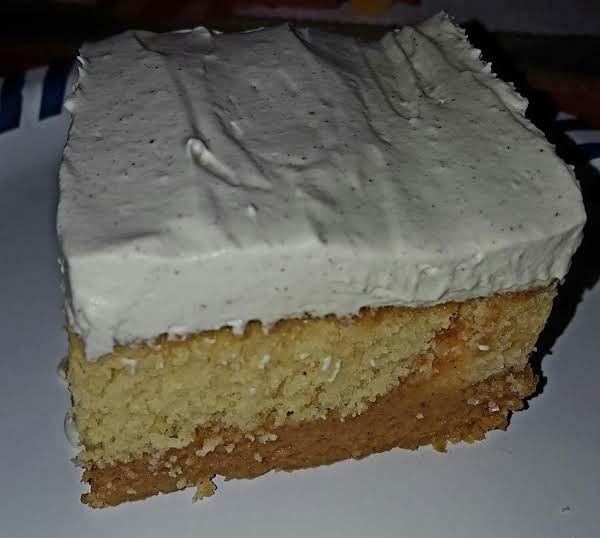 Magic Pumpkin Cake
