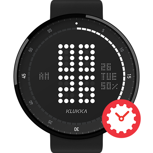 Super Dot watchface by Klukka