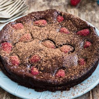 Flourless Berry Chocolate Cake Recipe