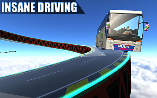Impossible Bus Simulator Tracks Driving 1.7 screenshots 5