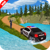 Offroad Police Car Drive 2017