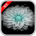 Galaxy Flowers Live Wallpapers icon