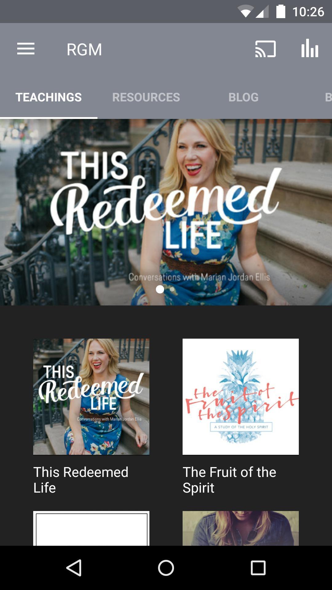 Redeemed Girl Ministries screenshot #1