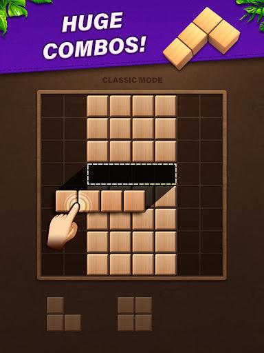 Fill Wooden Block 8x8: Wood Block Puzzle Classic  screenshots 9