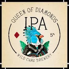 Logo of Wild Card Queen Of Diamonds