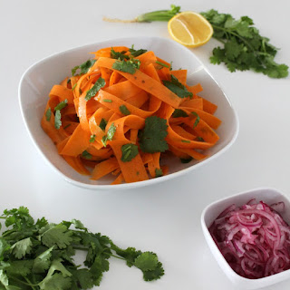 Carrot Salad with Onion Pickle