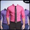 Men Formal Shirt Photo Suit APK