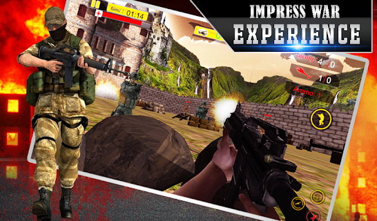 Lone Sniper Army Shooter 3D screenshot 02