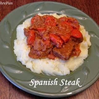Spanish Steak.