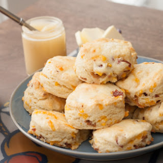 Bacon and Cheddar Buttermilk Biscuits