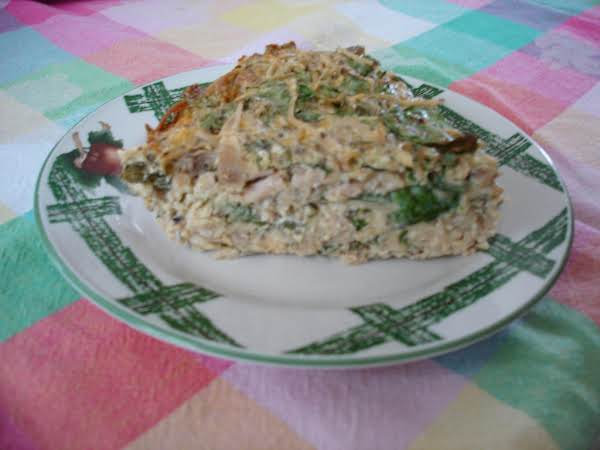 Spinach Pie - Diabetic Friendly