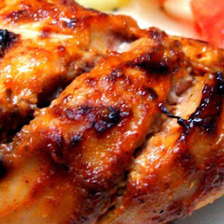 K's Special Grilled Chicken With Tomato Salad