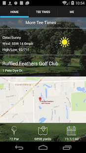 Ruffled Feathers Tee Times- screenshot thumbnail