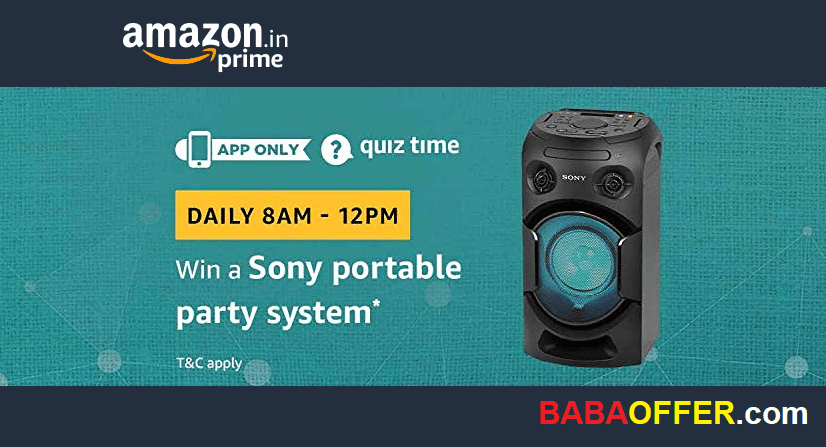 Amazon Quiz 15 December answer