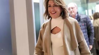 Susana Díaz, en su llegada al Comité Federal del PSOE en Ferraz (Madrid) a 15 de febrero de 2020.