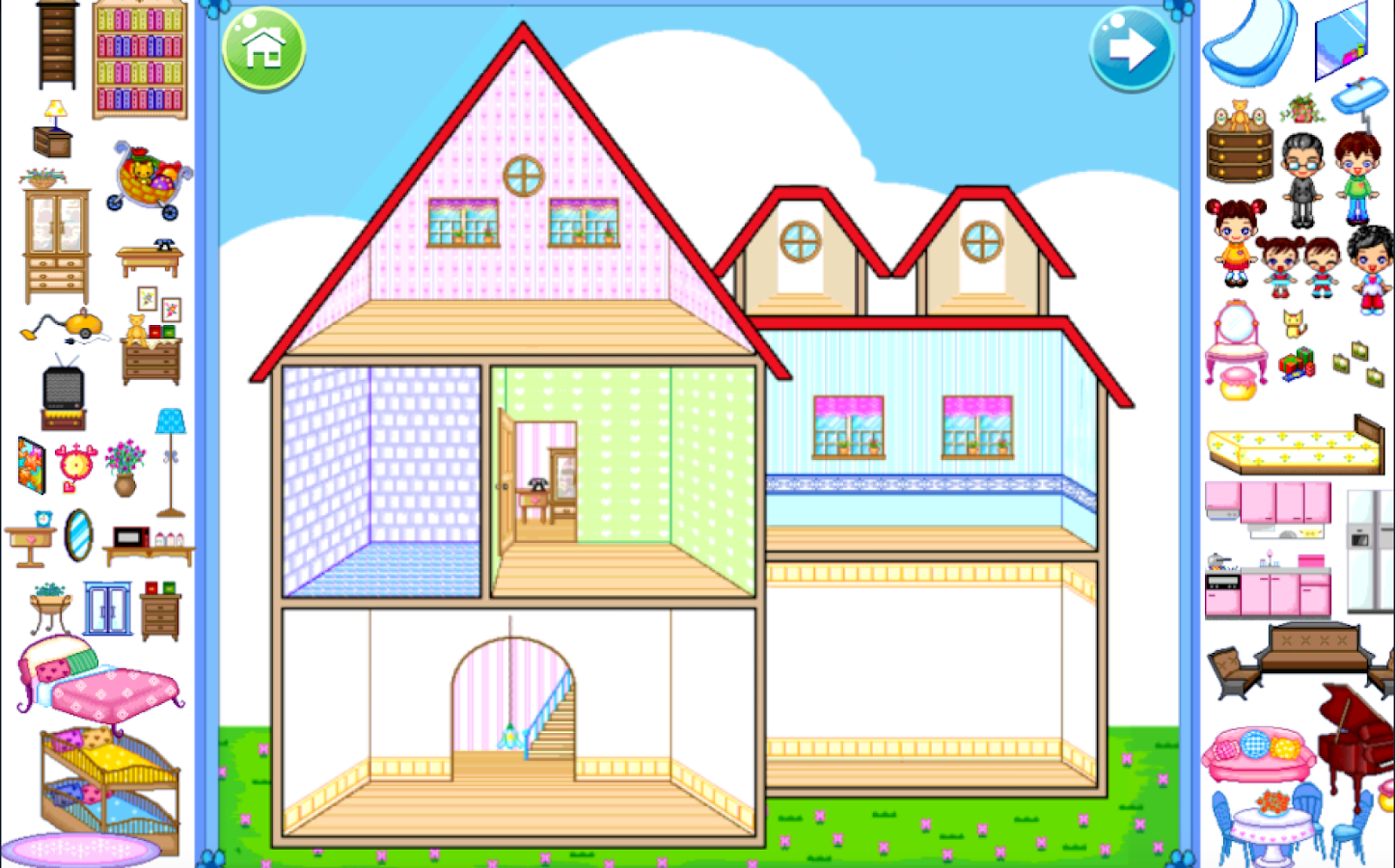 My dream house decoration android apps on google play for Design my home