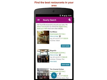 SpeQue: table booking, in-restaurant ordering - náhled