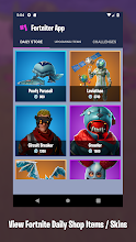 Daily Shop from Fortnite (Dances,Challenges,Skins) screenshot thumbnail
