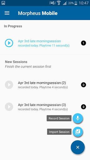 DBT app for trauma therapy – Morpheus  screenshots 1