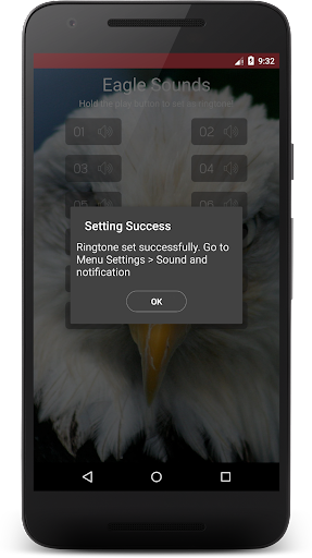 Download Eagle Sound Effect & Ringtone Google Play softwares