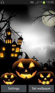 Spooky Halloween Free Live Wallpaper 3