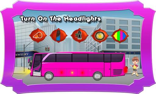 시내 버스 어린이 장난감