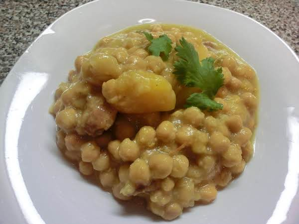 Potaje De Garbanzo Recipe