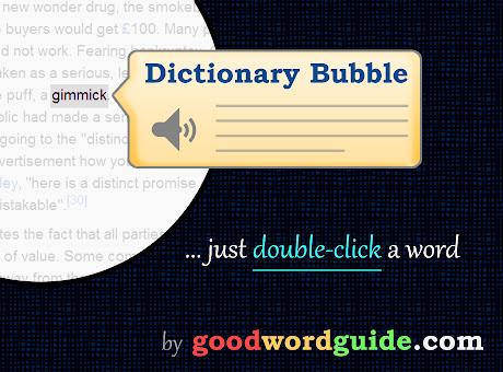 Instant Dictionary by GoodWordGuide.com