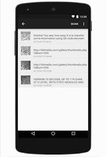 QR Code Scan Save Create - náhled