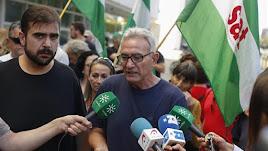 Óscar Reina y Diego Cañamero en una imagen de archivo.
