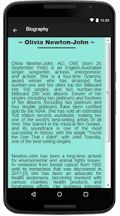 Olivia Newton-John Lyrics Music - náhled