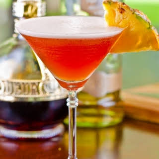 My French Martini with Vanilla infused Vodka.
