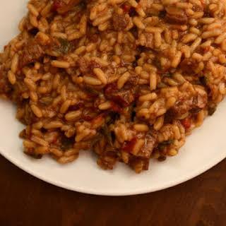 Beefy Tomato Rice.