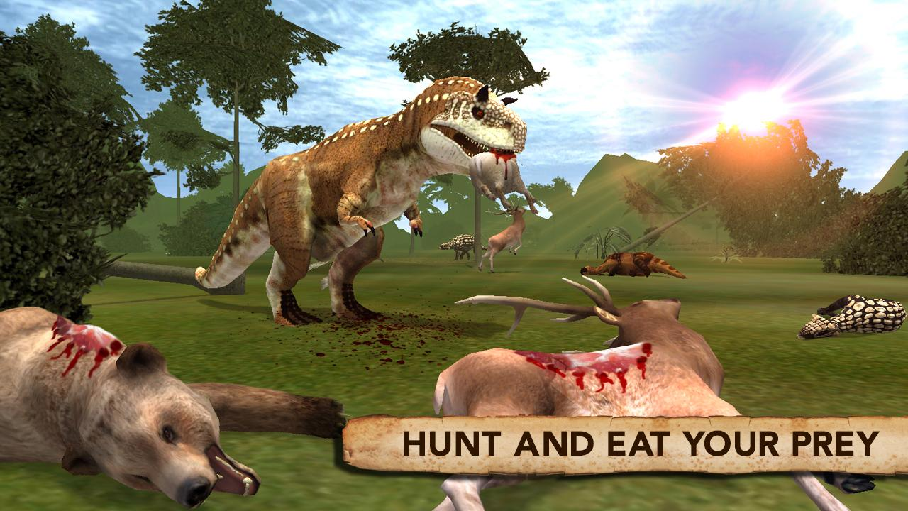dinosaur simulator 2016 android apps on google play