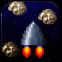 Retro Pixel Spaceship