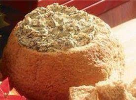 Spinach Dip In Bread Shell Recipe