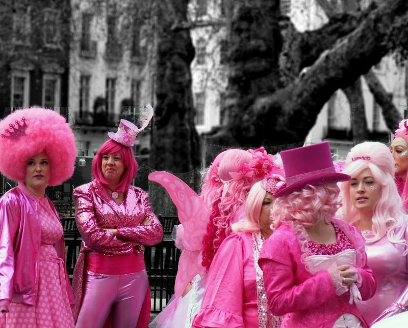 Ladies in Pink di BlueBetty