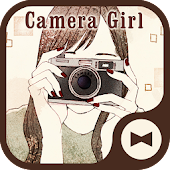 Wallpaper Camera Girl Theme