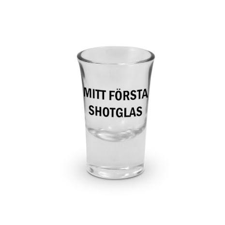 Snapsglas, Mitt första shotglas