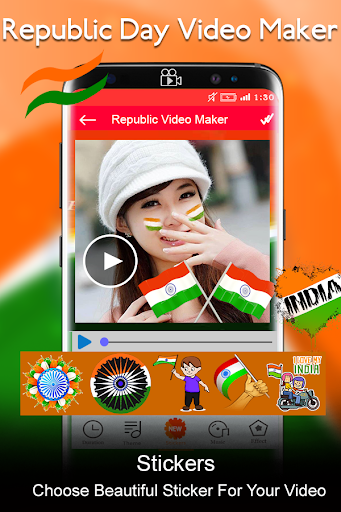 Republic Day Video Maker 2018 - 26 Jan Slideshow 7.0 screenshots 4