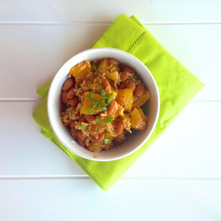 Chili-Spiced Brown Rice and Bean Salad.