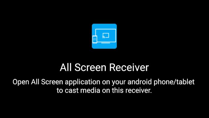 All Screen Receiver - screenshot