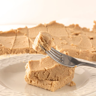 Healthy Peanut Butter Protein Fudge.