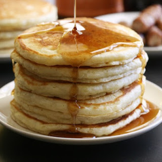 Best Ever Homemade Pancakes.
