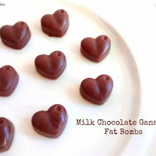 Milk Chocolate Ganache Fat Bombs