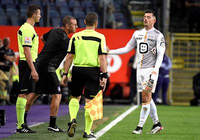 Le parquet de l'Union Belge de football a fait une proposition de suspension à Thoelen