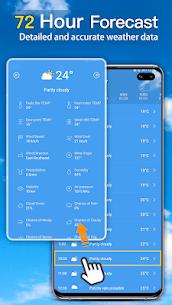 الطقس: توقعات الطقس الحية وعناصر الطقس 4